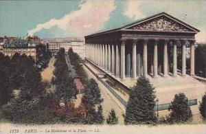 France Paris La Madeleine et la Place