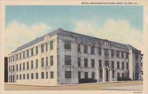 Illinois Rock Island Royal Neighbor Building
