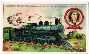 Train, Casey jones, Jackson Tenn
