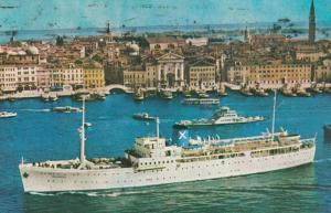 Chandris Cruises , 1960-70s ; S.S. ROMANTICA