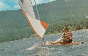 St Donat de Montcalm , Quebec , Canada , 60-70s ; Sailing