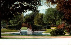 Massachusetts Newton Scene In Farlow Park