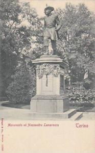 Monumento Ad Alessandro Lamarmora, Torino (Piedmont), Italy, 1900-1910s