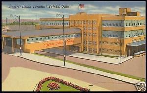 Toledo, Ohio, Central Union Terminal, Station (1930s)