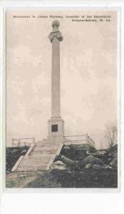 Monument to inventor of Steamboat, James Rumsey, Shepherdstown , West Virgini...
