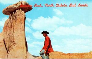 North Dakota Badlands Balance Rock