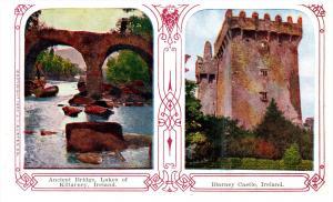 8243  Ireland  Killarney  2 views Bridge and Blarney Castle