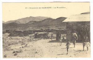 La Frontiere, Souvenir de Djibouti,  Dj ibouti, Africa, 1900-1910s