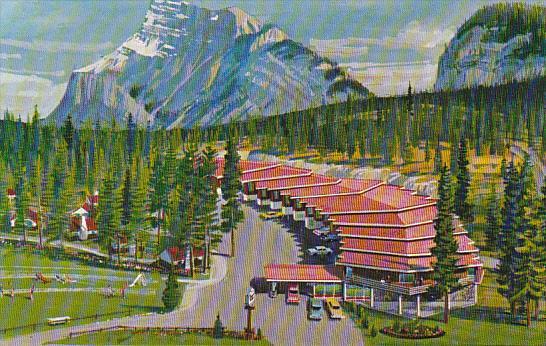 Canada Swiss Village Lodge Banff Alberta