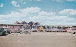 Exterior,Bismarck Municipal Airport Terminal, Bismarck, North Dakota, 40-60s