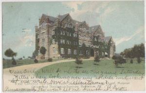 Comenius Hall Moravian College Bethlehem PA 1906