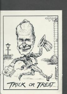 George HW Bush, 1989 by Matt Wuerker  Preziosi Postcards