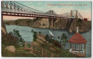 Bridge & Falls, Slack Water, St John NB