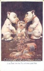Artist Studdy Postcard Bonzo Dog Post Card Old Vintage Antique Series 1041 ...