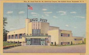 Exterior,WM.W.Doud Post No.98,Rochester,New York,30-40s