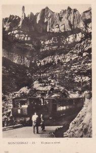 RP: MONTSERRAT , Spain, 1920-40s ; El Paseo a nivel