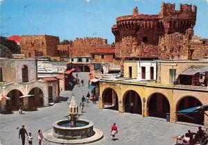 Greece Rhodes Rhodos Old city, Vieille ville, Altstadt