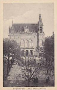 Place d'Armes Et Cercle, Luxembourg, 1900-1910s