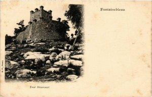 CPA FONTAINEBLEAU - Tour Denecourt (166784)
