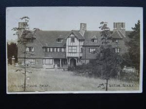 Hampshire UPTON GREY The Old Manor House c1908 RP Postcard