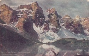 ALBERTA, Canada, PU-1906; Valley of 10 Peaks, Rocky Mountain, CPR