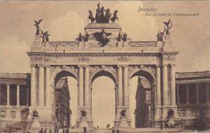 Belgium Brussels Arcades du Cinquantenaire 1912