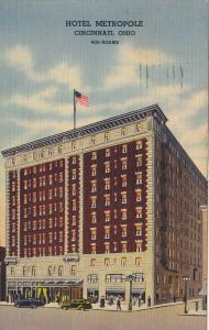 Hotel Metropole, CINCINNATI, Ohio, 30-40's