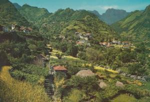 Serra D'Agua Portugal Aerial Birds Eye Madeira Postcard