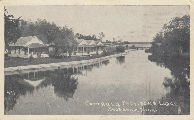 SHOREHAM , Minnesota, 1900-1910´s; Cottages, Pettibone Lodge