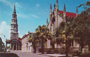 South Carolina Charleston French Huguenot Church On Church Street