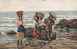 Fishermen; Shrimpers, 00-10s TUCK # 6685