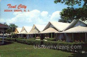 Tent City in Ocean Grove, New Jersey