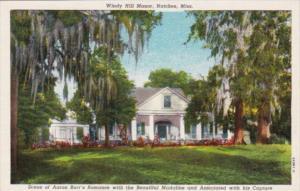 Mississippi Natchez Windy Hill Manor Curteich
