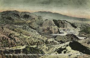 new zealand, Desolations around Waimangu from  Govt. Accomodation House (1910s)