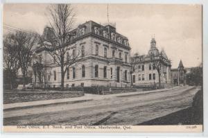 Head Office E.T. Bank & Post Office, Sherbrooke PQ