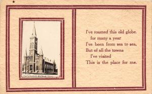 E49/ St Cloud Minnesota Mn Real Photo RPPC Postcard c1910 The Cathedral