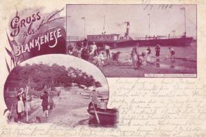 Gruss aus BLANKENESE , Germany , 1900