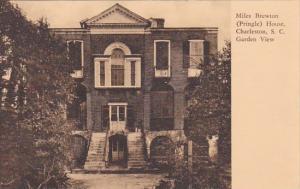 South Carolina Miles Brewton ( Pringle ) House Charleston Garden View Albertype