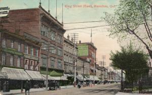 HAMILTON , Ontario , Canada , 1908 ; King Street (East)