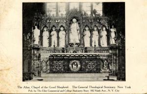 NY - New York City. General Theological Seminary, Chapel of the Good Shepherd...