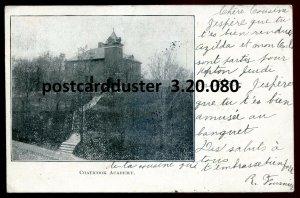 080 - COATICOOK Quebec Postcard 1905 Academy
