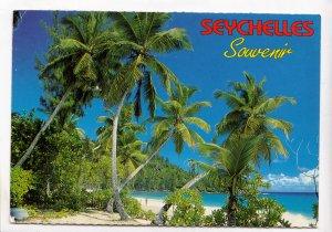 SEYCHELLES, INTENDENCE BEACH, MAHE, used Postcard