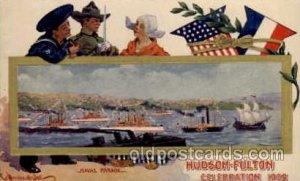 Hudson - Fulton 1909 Celebration Exposition Postcard Post Card