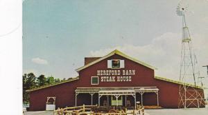 Exterior,  Hereford Barn Steak House,  Charlotte,  North Carolina,  PU_40-60s
