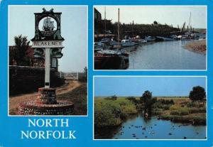 Postcard North Norfolk Blakeney Multiview