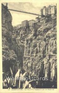 Constantine Algeria, Africa, la Nouvelle Passerelle sur le Rhummel  la Nouvel...