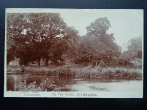 Hampshire SOUTHAMPTON On The Itchen c1904 RP Postcard by Cosser