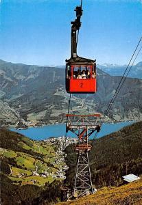 Zell am See Seilbahn zur Schmittenhoehe Land Salzburg Cable Car Lake