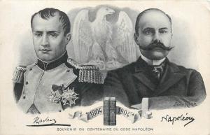 CPA Napoleon Ier Souvenir du Centenaire du Code Napoléon 1804-1904