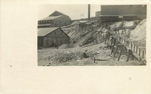 c1907 RPPC Postcard; Mining Scene, Unknown US Location, unposted